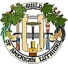 logo for the guild of american luthiers