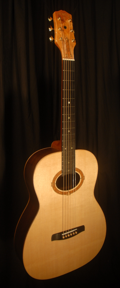 front view of michael mccarten's 000-12 flat top guitar model