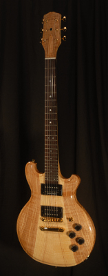 front view of michael mccarten's DC13T double cutaway electric guitar model